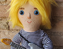 Tribute doll: Kurt Cobain