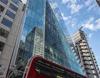 City of London Skyline Reflections