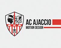 AC Ajaccio - Motion Graphics