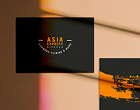 Logo design and branding for ASIA EXPRESS KITCHEN