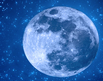 Matrimonio tema Cielo, stelle e luna