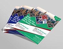 Free PSD Corporate Flyer Design Template.
