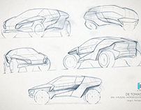 De Tomaso 4x4 & Sedan - Sketches