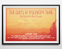 The Corps of Discovery Tour Poster
