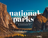 National Park of The United States of America