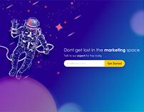 Marketing Expert Landing Page