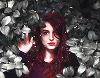 Annie, analog portraits