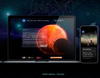 NASA website - Concept