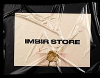Imbir - online store web design concept