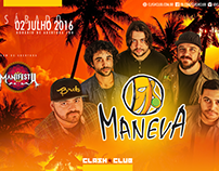 Show Maneva at Clash Club