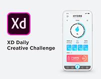 XD Daily Challenge 01 - Dashboard