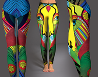Creative leggins design