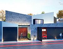 Casa Maldonado Oyanguren (Proyecto) / 2018