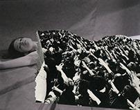 Walls #2, 2017 photo-collage 150 cm x 128 cm, dibond