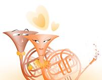 O noivado dos instrumentos!