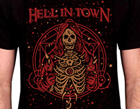 HELL IN TOWN TSHIRT