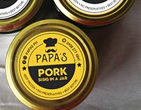 PAPA'S Rebranding