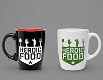 Heroic Food Logo