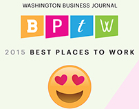 Best Places to Work: Event Collateral