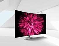 Digital arts - Qled TV -Samsung Perú 2017