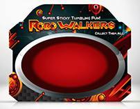 Robo Walkers Toy Package Blister Card Concept