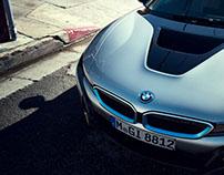 BMW i8 in L.A. for BMW and Serviceplan International