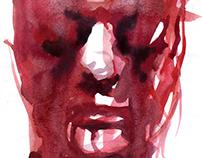 Crimson triptych