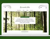 Lovranits Júlia web design + build