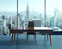 Atlas | Office Desk - Home and Office