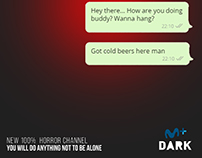 "Movistar+ ""Dark"" - You will do anything not to be alone"