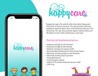Daycare| Teacher and Parent App | Case Study