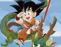 Dragon Ball / Fan art aniversario. ( illustration )