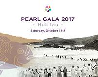 Ho'ōla Nā Pua Pearl Gala 2017-18 Hukilau Branding