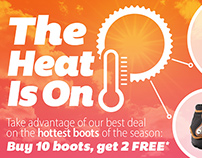 Sporting Equipment-The Heat Is On