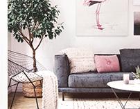 3D | Flamingo Apartment