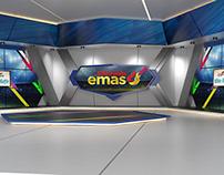 Studio set INDONESIA EMAS