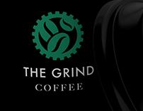 Grind coffee logo