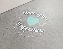 Homespun Happiness Logo Design - Greenville, TX