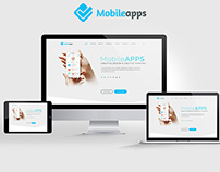 MobileAPP Landing Page