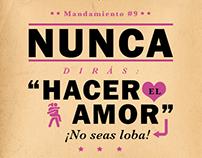 """Mandamientos"" / Susana y Elvira / Mimosa Tv"