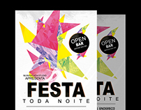 Night party flyer