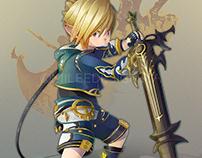 Final Fantasy XIV : Lalafell Dark Knight