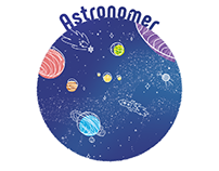 Astronomer | illustration to the poem