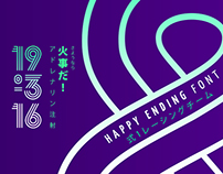 Happy Ending Typeface
