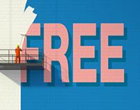 free wall
