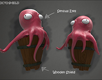 Fantasy Shields - 3D Models