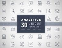 Analytics Icons Set | Concept