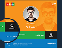 mBank - mobile app redesign concept