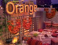 Orange -Gathering concept One
