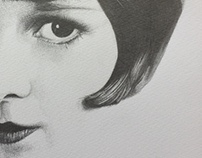 Detailed Face Sketch